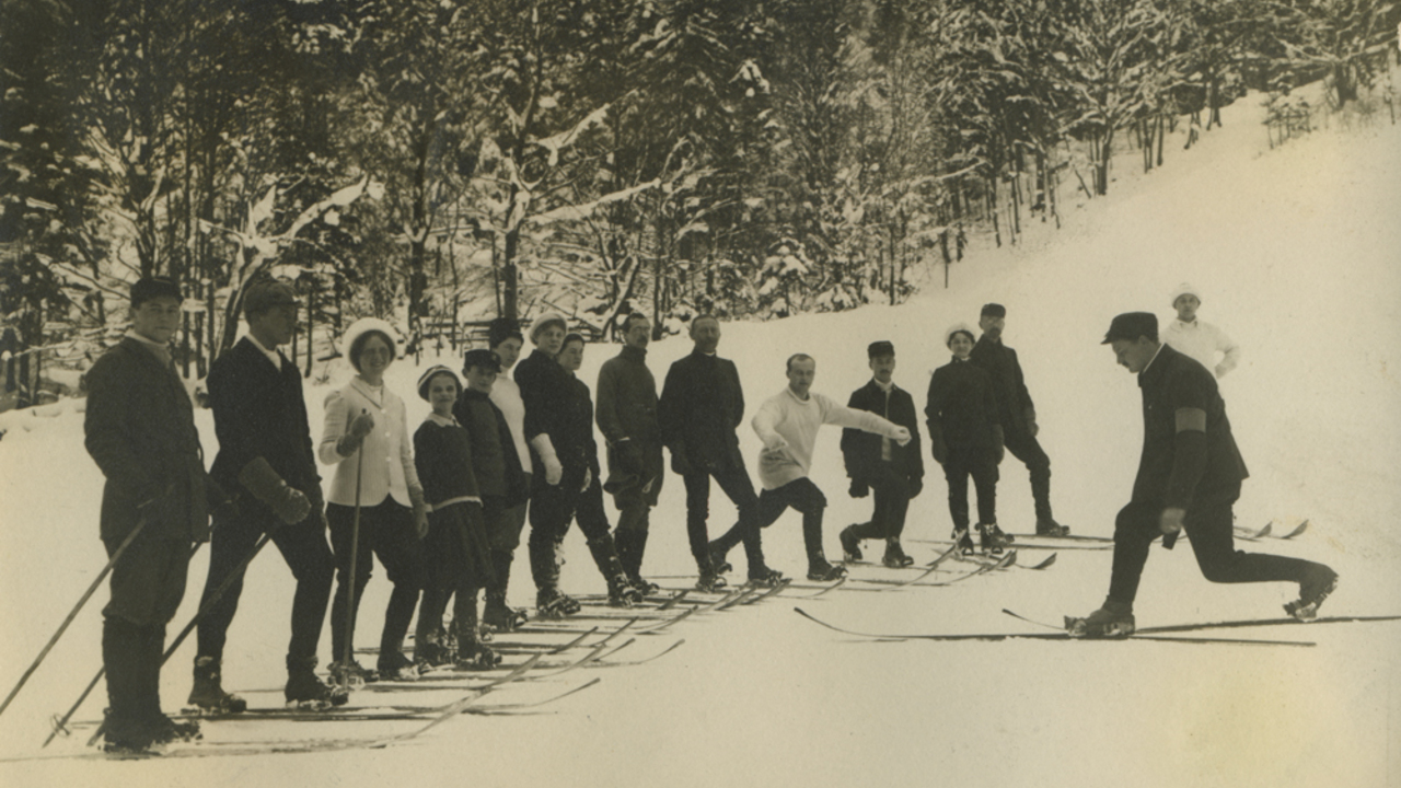 When the Bavarians learnt to ski, Bild 3