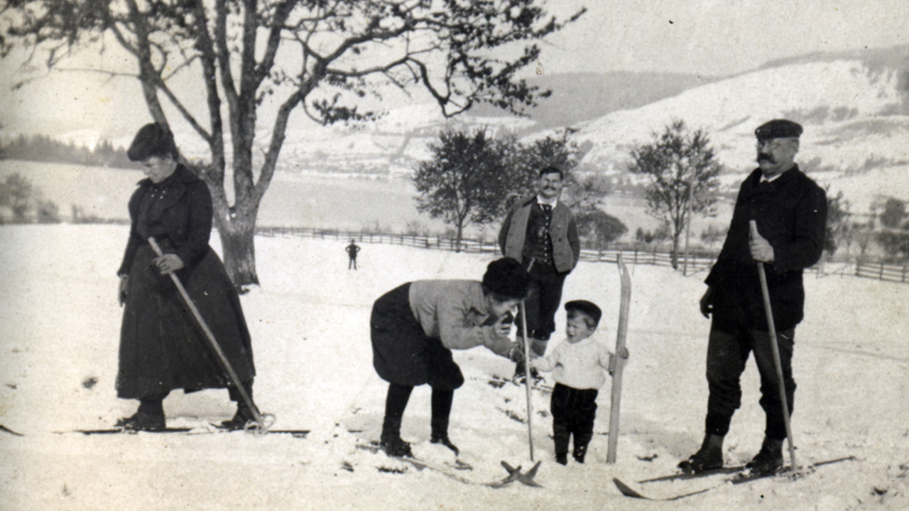 When the Bavarians learnt to ski, Bild 6